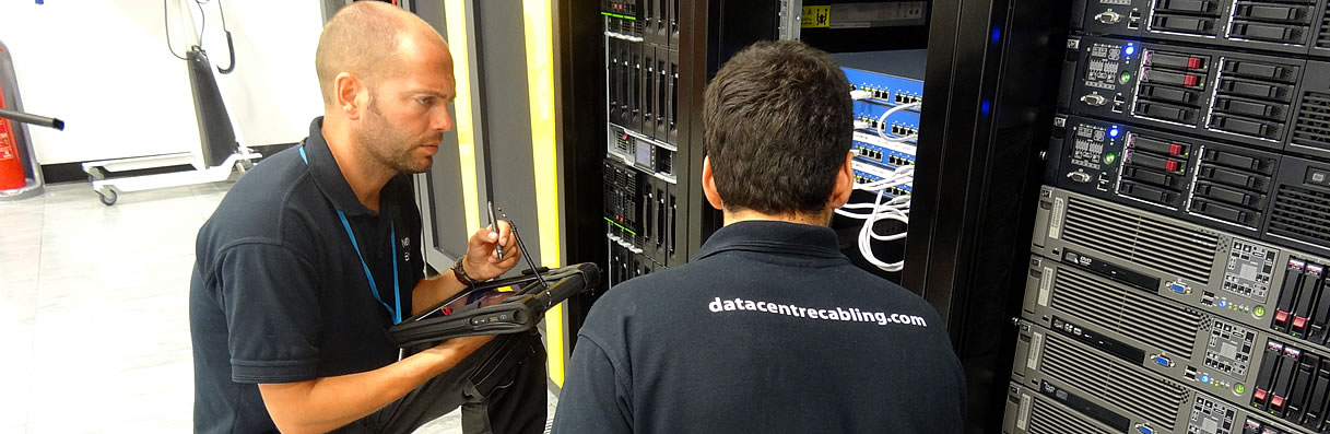 data centre cable installations