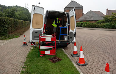 fibre optic cable repair for rodent damage to cctv cables