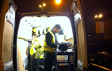 emergency call out fibre optic cable repair for virgin media
